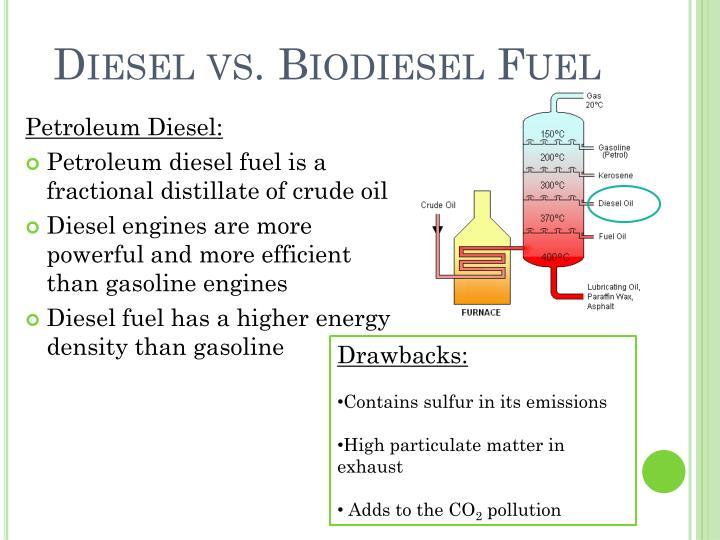 Diesel vs. Biodiesel Fuel
