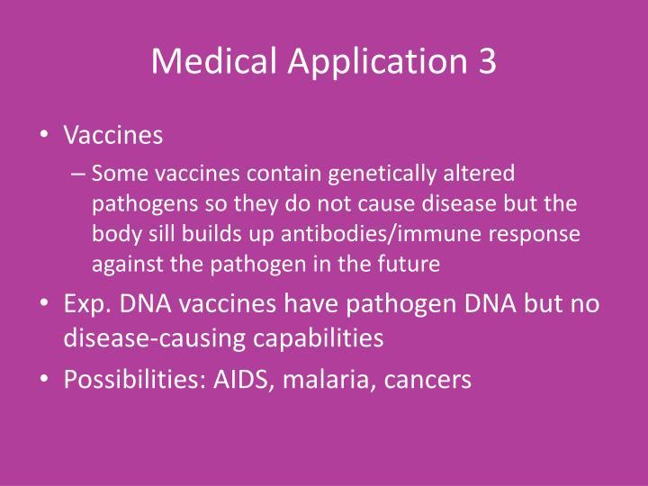 Medical Application 3