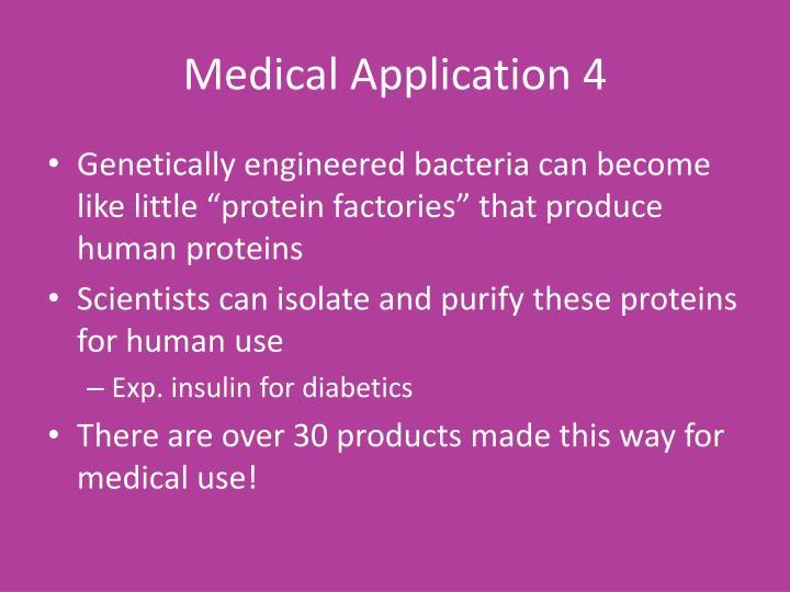Medical Application 4