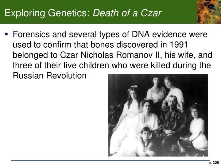 Exploring Genetics: