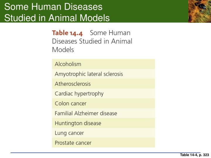 Some Human Diseases