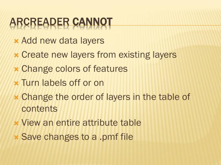 Add new data layers