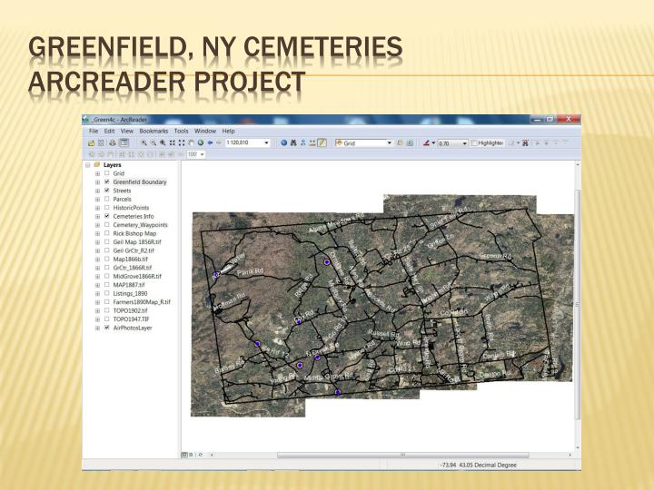 Greenfield, NY Cemeteries