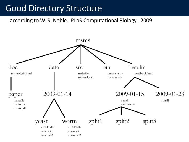Good Directory Structure
