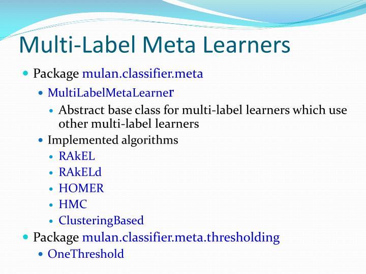 Multi-Label