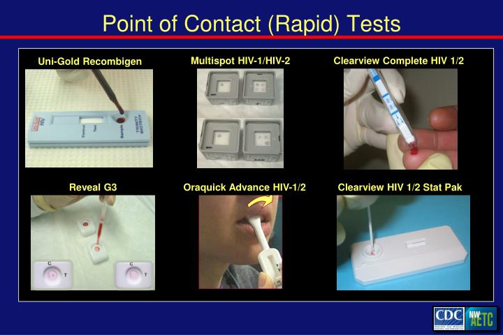 Point of Contact (Rapid) Tests
