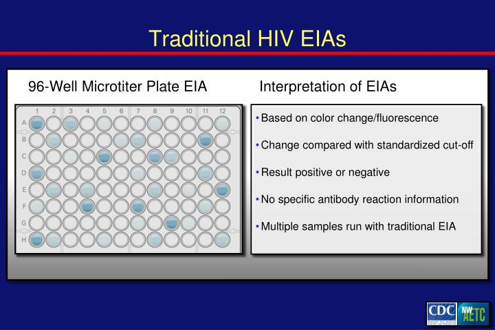Traditional HIV EIAs