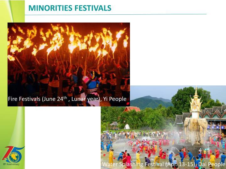 Minorities Festivals