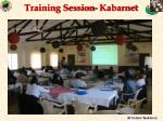 training session kabarnet