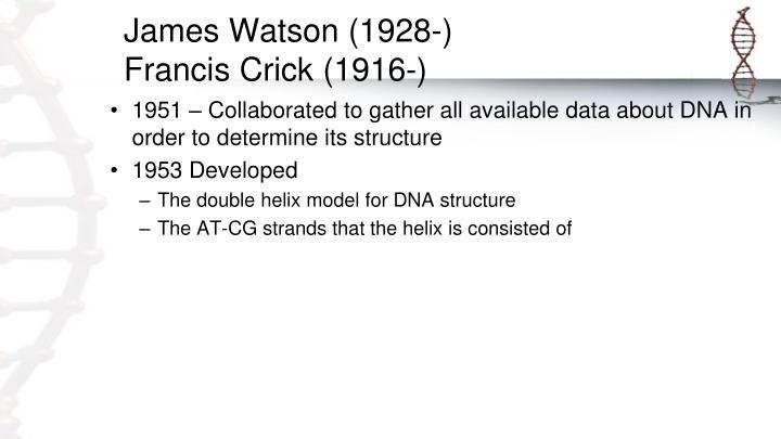 James Watson (1928-)