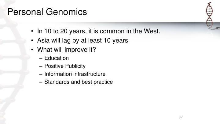 Personal Genomics