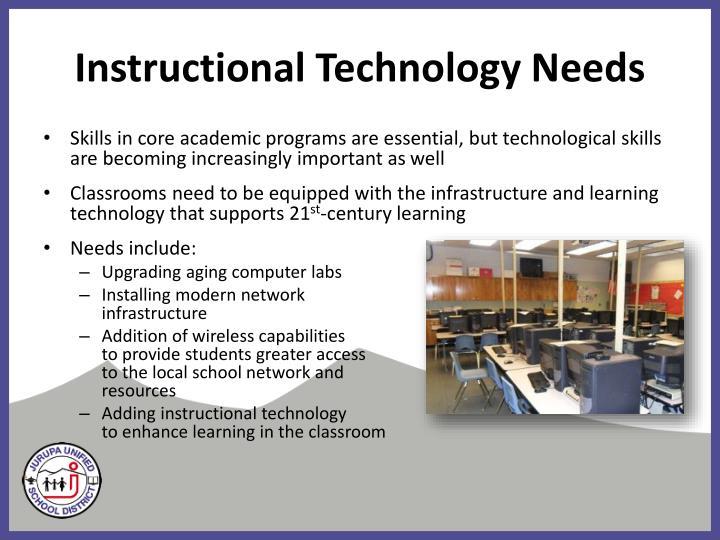 Instructional Technology Needs