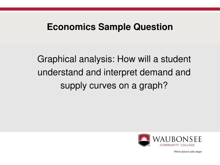 Economics Sample Question