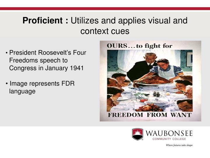 President Roosevelt's Four