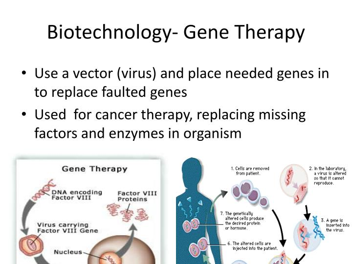 Biotechnology- Gene Therapy