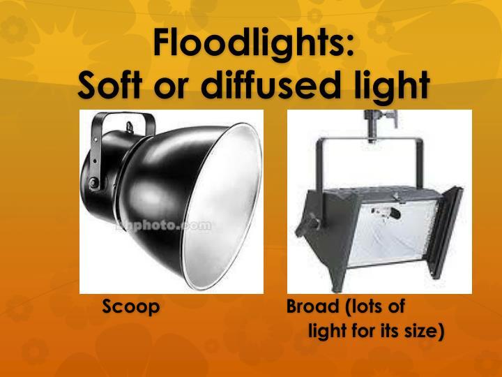 Floodlights: