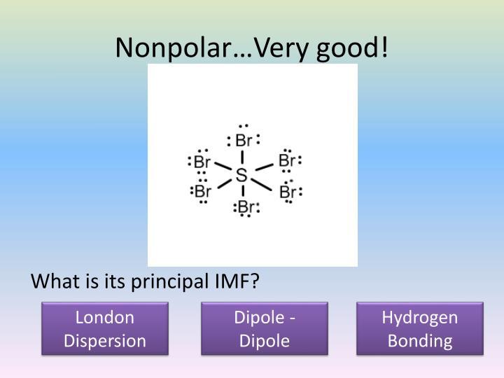 Nonpolar