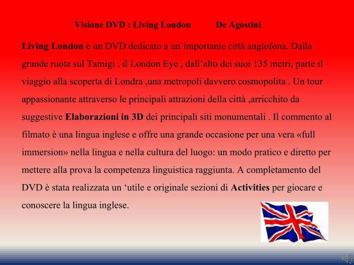 Visione DVD : Living