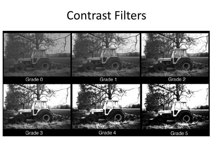 Contrast Filters