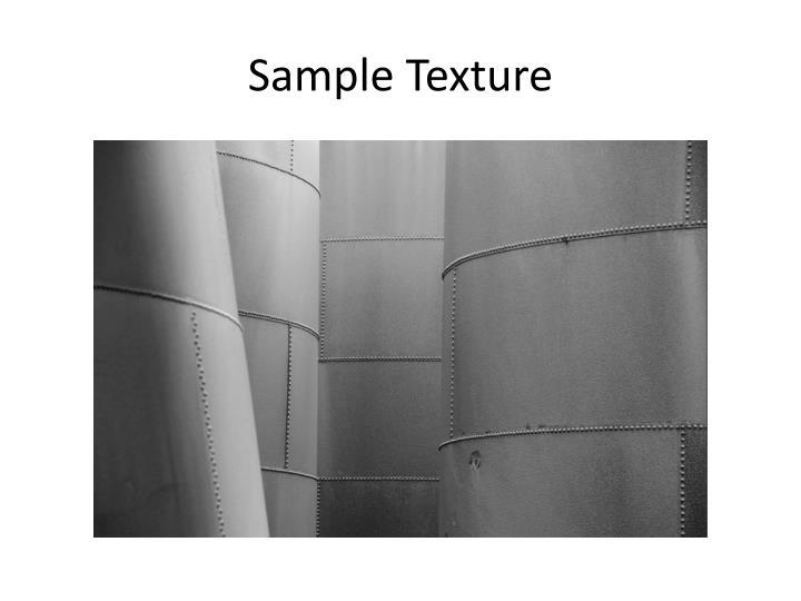 Sample Texture