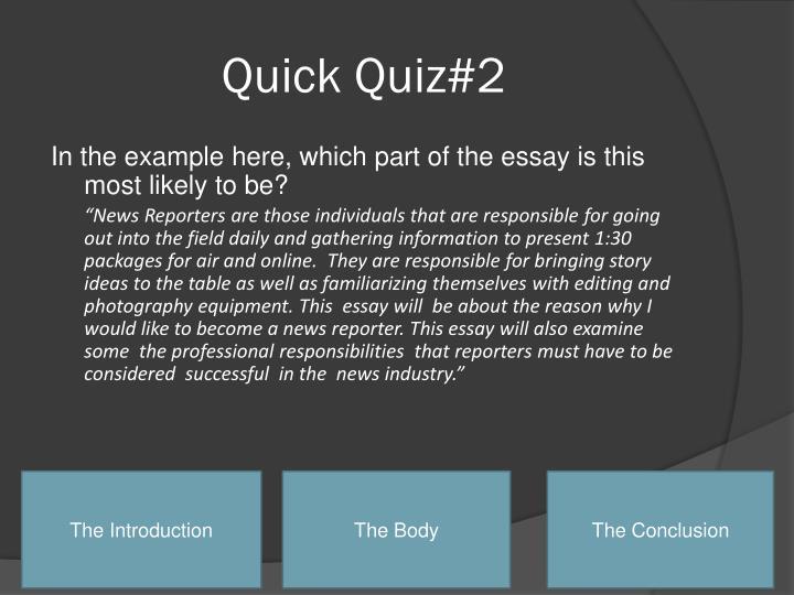 Quick Quiz#2