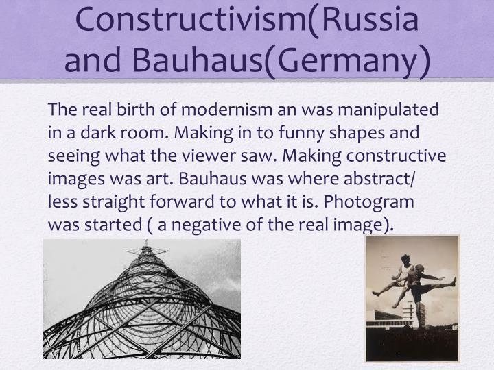 Constructivism(Russia