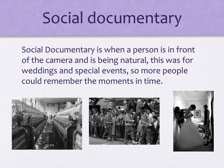 Social documentary