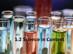 1 2 science in context