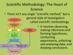 scientific methodology the heart of science