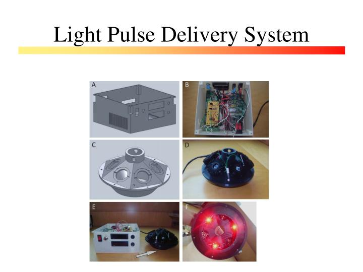 Light Pulse Delivery System