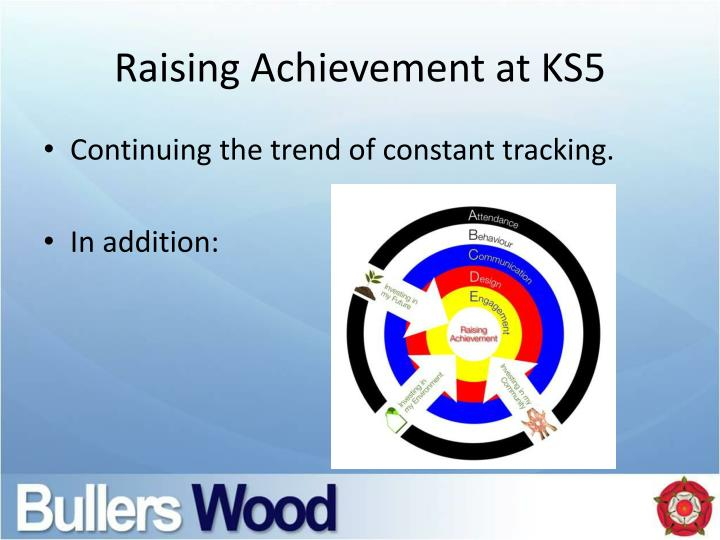 Raising Achievement at KS5