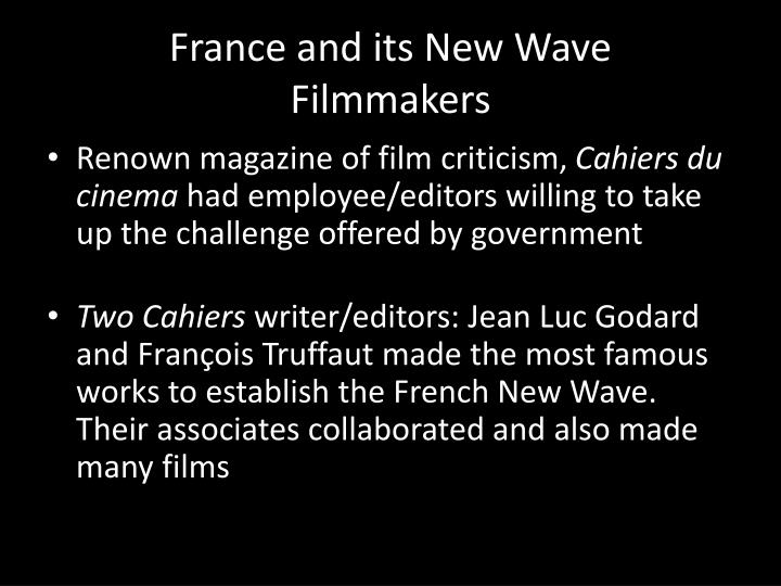 France and its New Wave