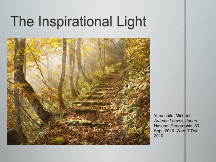The Inspirational Light