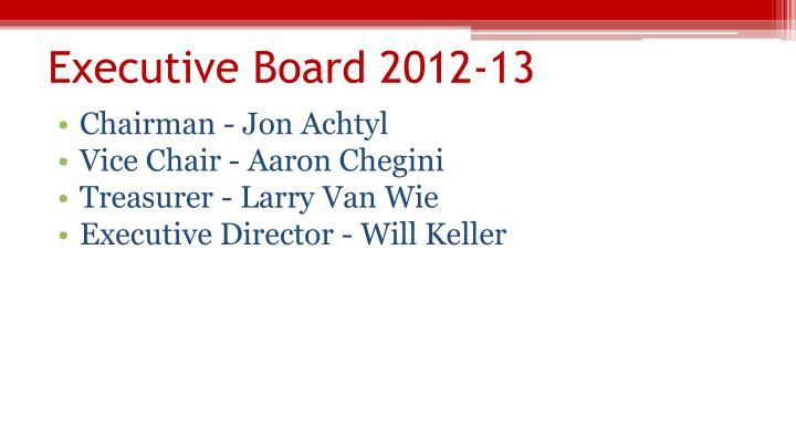 Executive Board 2012-13