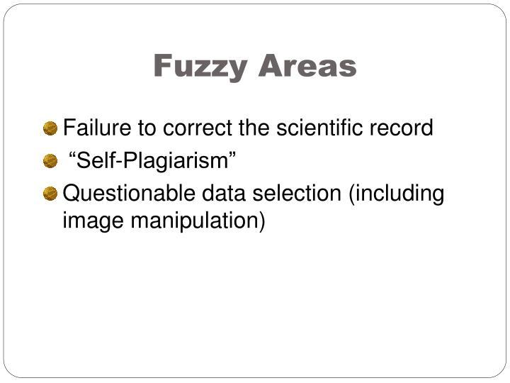 Fuzzy Areas