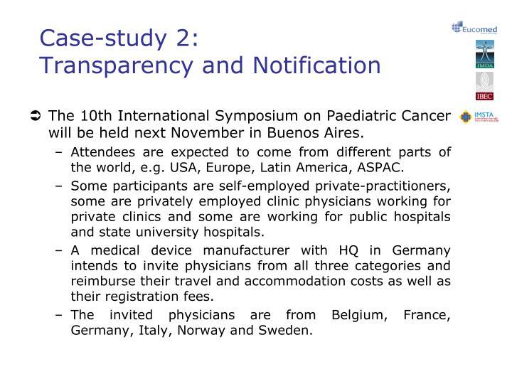 Case-study 2: