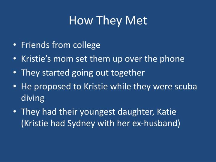 How They Met
