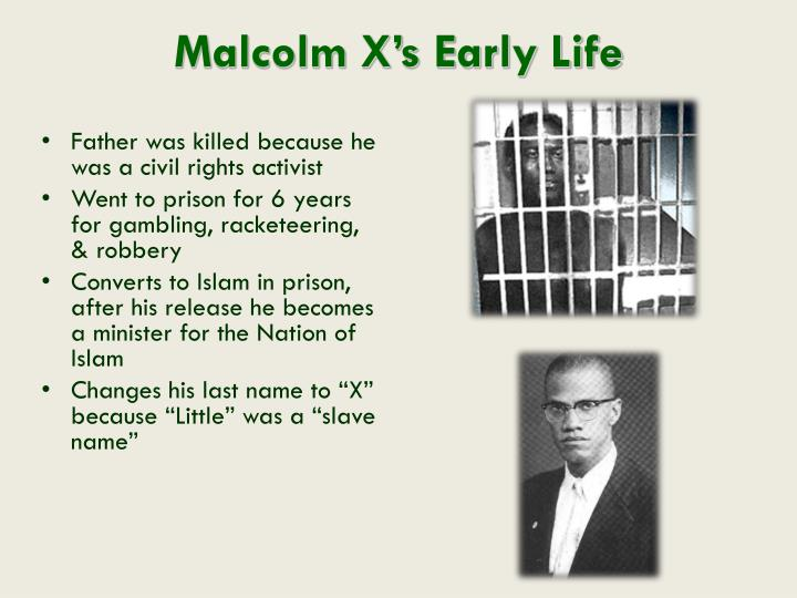 Malcolm X's Early Life