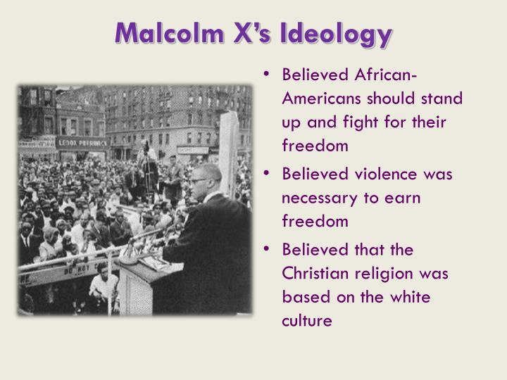 Malcolm X's Ideology