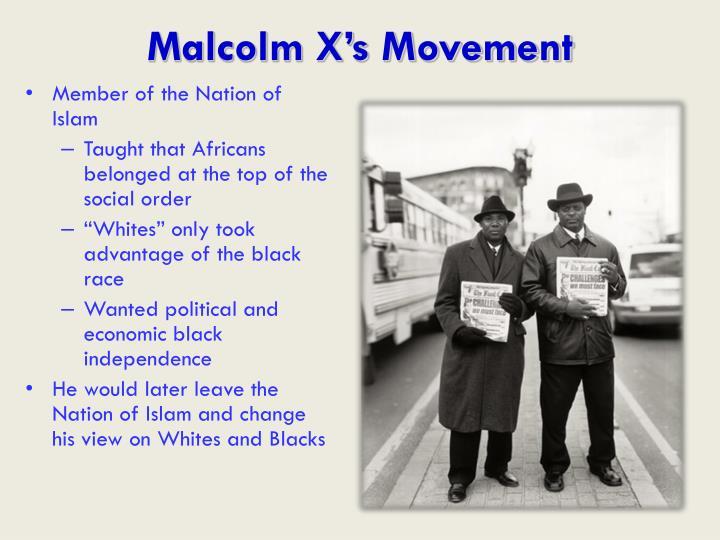 Malcolm X's Movement