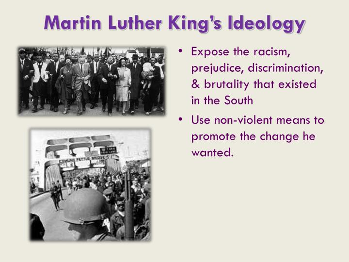 Martin Luther King's Ideology