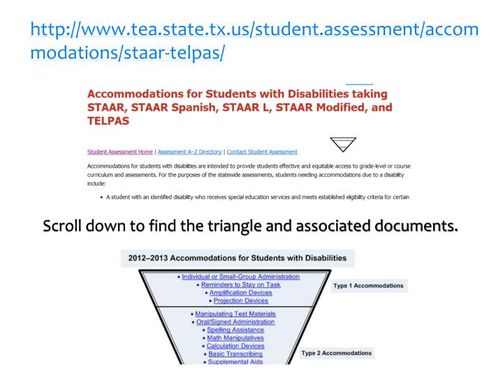 http://www.tea.state.tx.us/student.assessment/accommodations/staar-telpas/