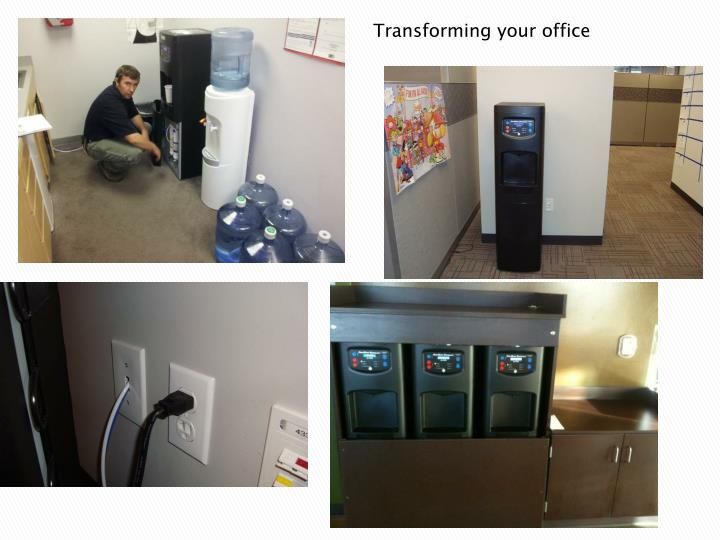 Transforming your office