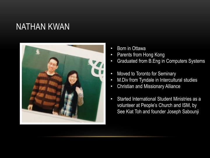 Nathan Kwan