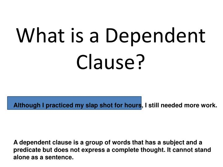 What is a Dependent