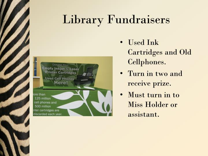 Library Fundraisers