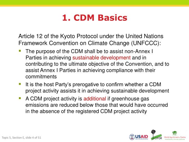 1. CDM Basics