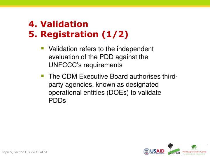 4. Validation
