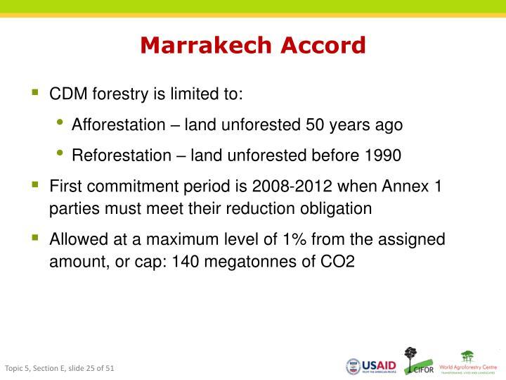 Marrakech Accord