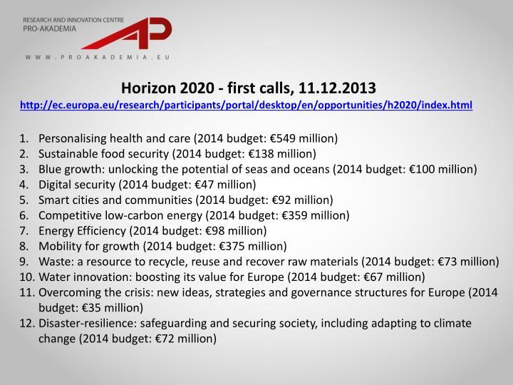 Horizon 2020 -